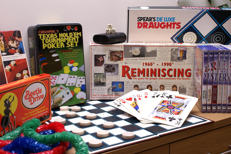 Games - Care Homes Dorset & Residential Care Wiltshire