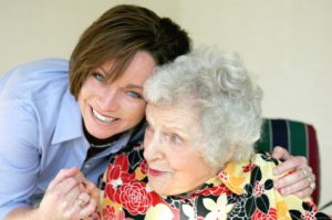 Looking after elderly lady 300x199 - Care Homes Dorset & Residential Care Wiltshire